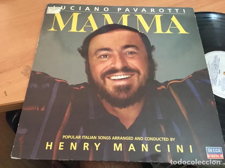 LUCIANO PAVAROTTI (MAMMA POPULAR ITALIAN SONGS) LP 1984 (VIN-A8)