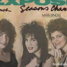 Discos de vinilo: EXPOSÉ ?– SEASONS CHANGE (ED.: ESPAÑA, 1987). Lote 130270158