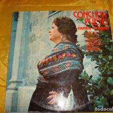 Discos de vinilo: CONCHITA PUEYO. CANTA ARAGON. DISCOPHON, 1972. IMPECABLE. Lote 130271894