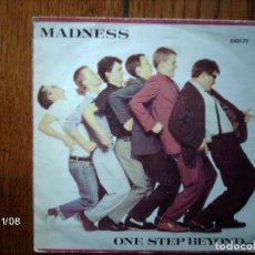 Discos de vinilo: MADNESS - ONE STEO BEYOND ... + MISTAKES . Lote 130277482