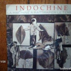 Discos de vinilo: INDOCHINE - LA MACHINE A RATTRAPER LE TEMPS - UN GRAND CARNAVAL . Lote 130277982