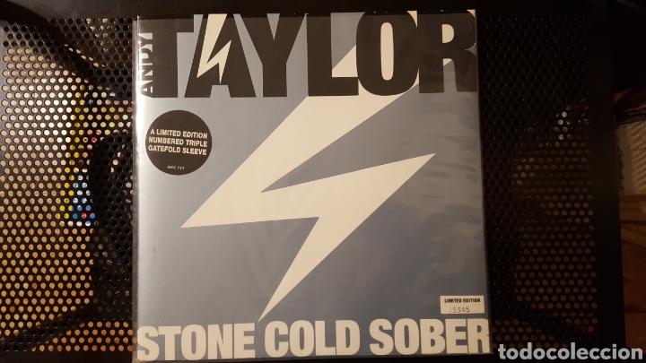 Discos de vinilo: Maxis - Andy Taylor (Duran Duran) - Stone Cold Sober - Lola - Ediciones limitadas - Foto 2 - 130278778