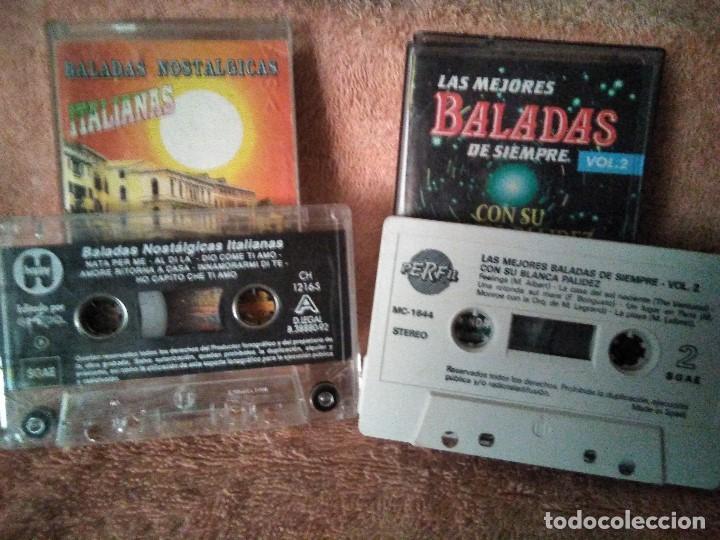 Discos de vinilo: Dos cassettes exitos de baladas - Foto 2 - 130284002