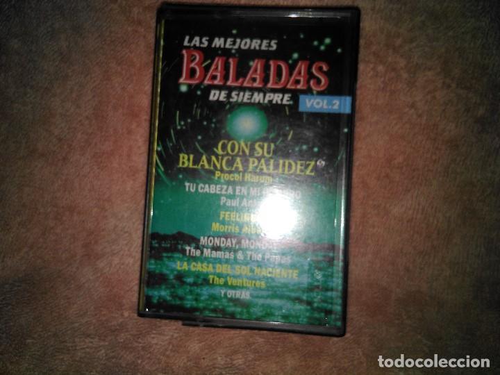 Discos de vinilo: Dos cassettes exitos de baladas - Foto 6 - 130284002