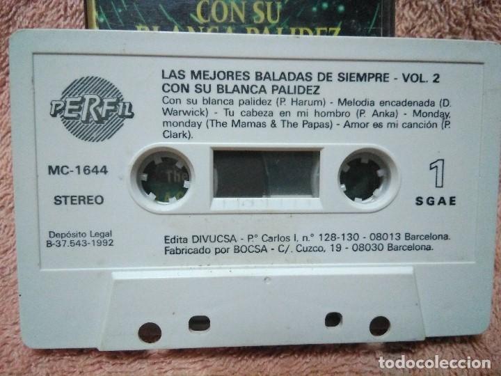 Discos de vinilo: Dos cassettes exitos de baladas - Foto 7 - 130284002