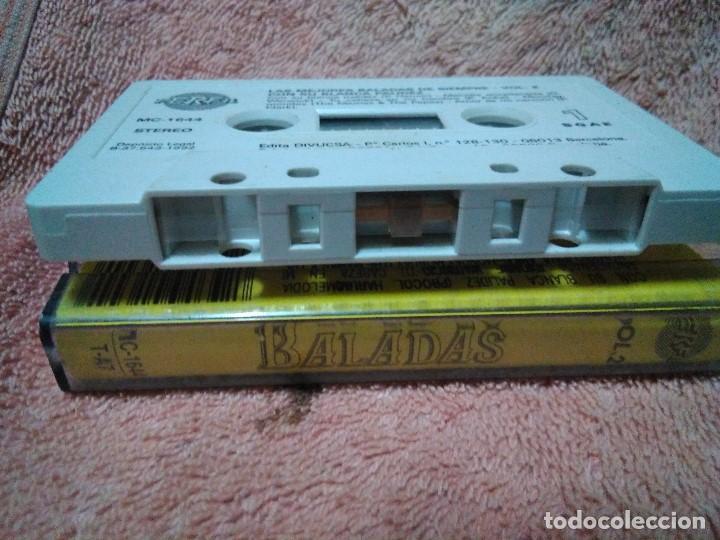 Discos de vinilo: Dos cassettes exitos de baladas - Foto 8 - 130284002