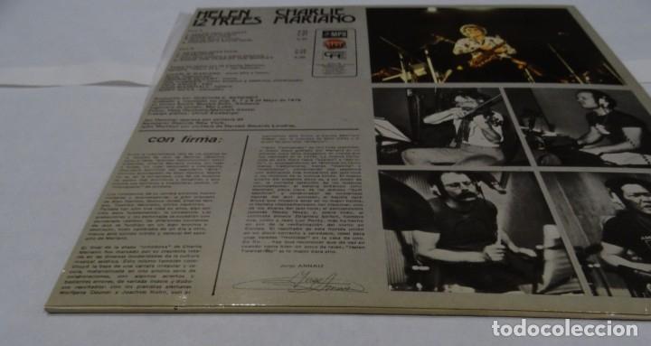 Discos de vinilo: CHARLIE MARIANO - HELEN 12 TREES -LP 1976. Firmado por el autor. - Foto 4 - 109026203