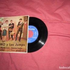 Discos de vinilo: MIMO Y LOS JUMPS ADIOS MUNDO CRUEL/DEJAME BAILAR/OH OH ROSY +1 EP 1962 PHILIPS VER FOTOS. Lote 130326174