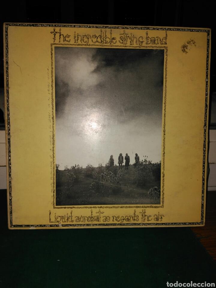 THE INCREDIBLE STRING BAND,LIQUID ACROBAT. ARIOLA 1978 (Música - Discos - LP Vinilo - Pop - Rock - Extranjero de los 70)