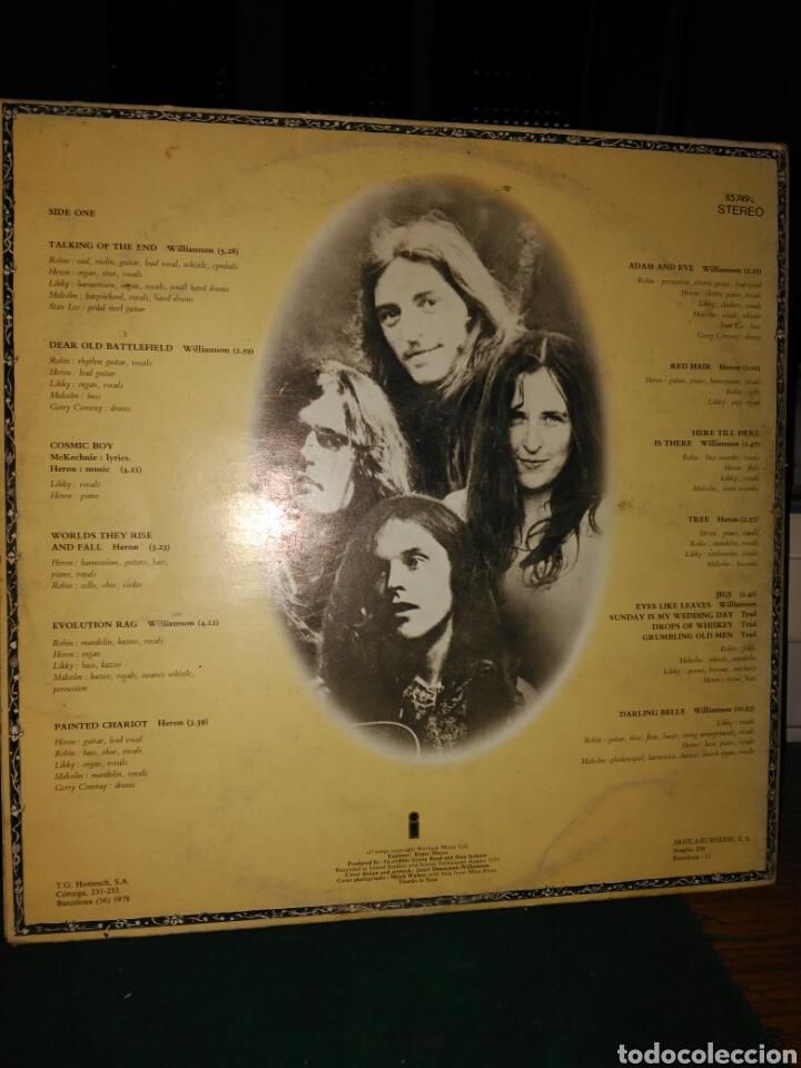 Discos de vinilo: The incredible string band,liquid acrobat. Ariola 1978 - Foto 3 - 130330440