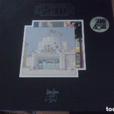 Discos de vinilo: LED ZEPPELIN: THE SOUNDTRACK FROM THE FILM THE SONG REMAINS THE SAME + LIBRETO *PERFECTO*. Lote 130332378