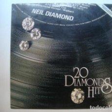 Discos de vinilo: LP NEIL DIAMOND - 20 DIAMOND HITS (MCA, 1979).. Lote 130334646