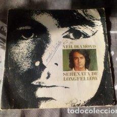 Discos de vinilo: NEIL DIAMOND – SERENATA DE LONGFELLOW – CBS 2769 - 1974 - (*). Lote 130343830