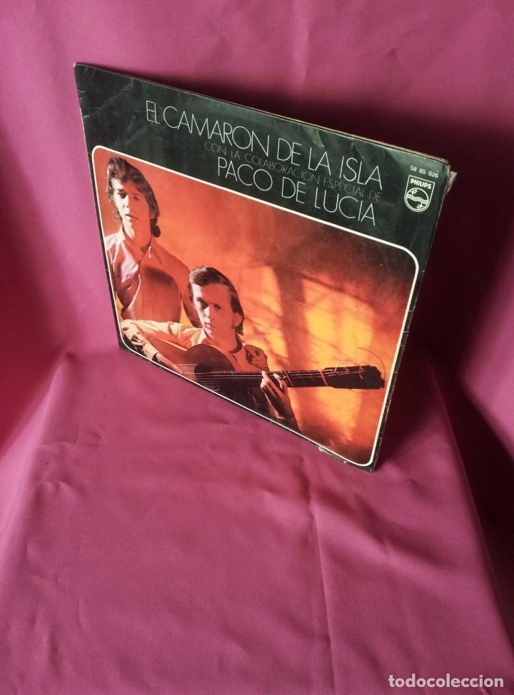 LP, EL CAMARON DE LA ISLA CON LA COLABORACION ESPECIAL DE PACO DE LUCIA - PHILIPS 1969 (Música - Discos - LP Vinilo - Flamenco, Canción española y Cuplé)