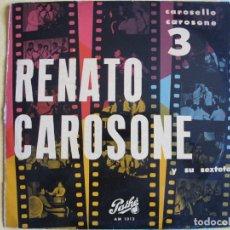 Discos de vinilo: 10 PULGADAS - RENATO CAROSONE - CAROSELLO CAROSONE 3 (SPAIN, DISCOS PATHE SIN FECHA). Lote 130351678