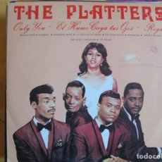 Discos de vinilo: LP - THE PLATTERS - EXITOS (SPAIN, DISCOS PALOBAL 1981). Lote 130351862