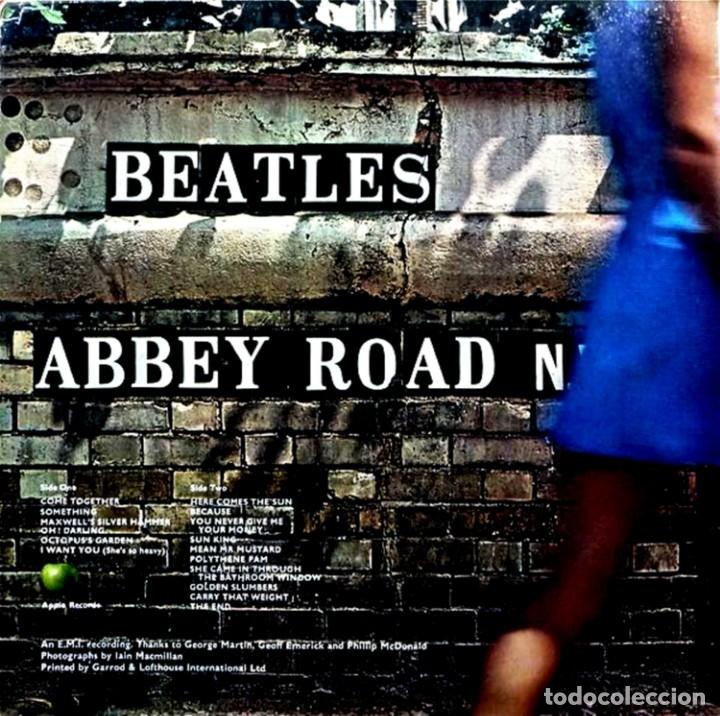 Discos de vinilo: The Beatles - Abbey Road (Psichedelic) 1ª Edicion UK 1969 con Errata en Portada y Label, Muy Raro... - Foto 2 - 50305164