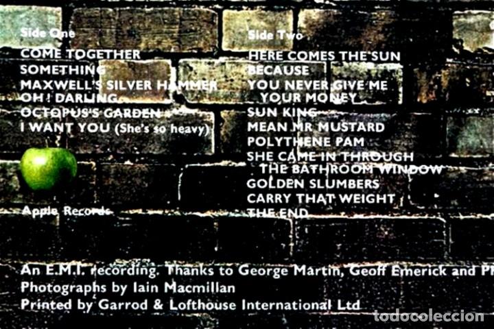 Discos de vinilo: The Beatles - Abbey Road (Psichedelic) 1ª Edicion UK 1969 con Errata en Portada y Label, Muy Raro... - Foto 3 - 50305164