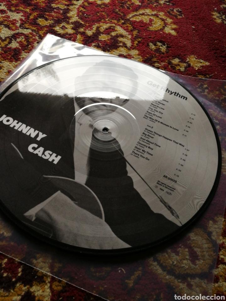 Discos de vinilo: LP JOHNNY CASH- GET RHYTHM, ED.FOTOGRAF, DENMARK 1984. - Foto 2 - 130353536
