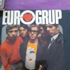 Discos de vinilo: EUROGRUP-L´ESTIU A CIUTAT EP - CONTIENE LAS HOJAS DE LAS CANCIONES. Lote 130353918