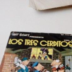 Discos de vinilo: BAL-6 DISCO CHICO 7 PULGADAS LOS TRES CERDITOS VOL 2. Lote 130361754