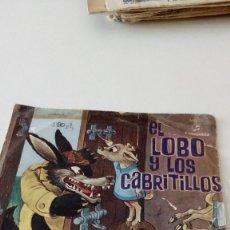 Dischi in vinile: BAL-6 DISCO CHICO 7 PULGADAS EL LOBO LOS CABRITILLOS. Lote 130362086