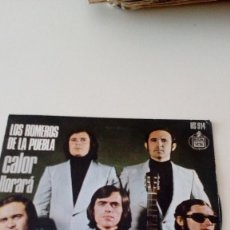 Discos de vinilo: BAL-6 DISCO CHICO 7 PULGADAS LOS ROMEROS DE LA PUEBLA CALOR LLORARA . Lote 130363038
