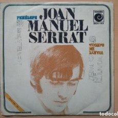 Discos de vinilo: JOAN MANUEL SERRAT - PENELOPE (SG) 1969. Lote 130376958