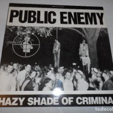 Discos de vinilo: PUBLIC ENEMY - HAZY SHADE OF CRIMINAL. Lote 130381746