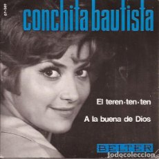 Discos de vinilo: SINGLE-CONCHITA BAUTISTA EL TEREN TEN TEN BELTER 07249. Lote 130394970