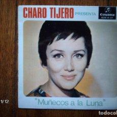 Discos de vinilo: CHARO TIJERO - MUÑECOS A LA LUNA . Lote 130396250