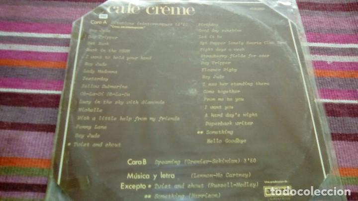 Discos de vinilo: CAFÉ CRÉMME MAXI EMI ODEON 1977 - Foto 2 - 130402674