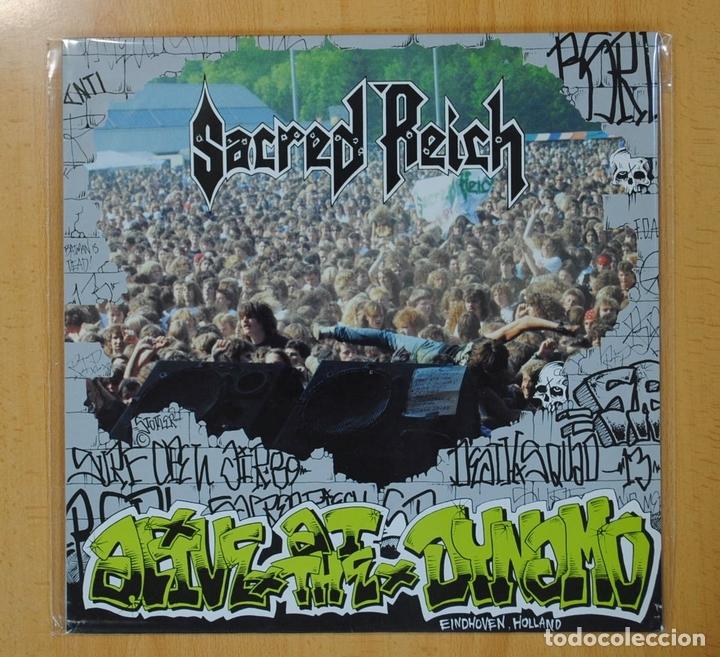 SACRED REICH - ALIVE AT THE DYNAMO - LP (Música - Discos - LP Vinilo - Heavy - Metal)