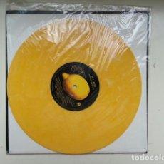 Discos de vinilo: U2 MAXI 10 PULGADAS LEMON PROMO USA AMARILLO VINILO LP RARO. Lote 130419622