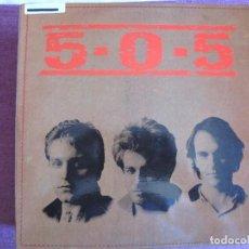 Discos de vinilo: LP - 5-0-5 - MISMO TITULO (SPAIN, FUNNY RECORDS 1991, CONTIENE INSERT). Lote 130420874