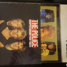 Discos de vinilo: MAXIS - THE POLICE / STING - WRAPPED AROUND YOUR FINGER - SYNCHRONICITY II - KING OF PAIN. Lote 130437722