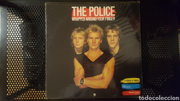 Discos de vinilo: Maxis - The Police / Sting - Wrapped Around Your Finger - Synchronicity II - King Of Pain - Foto 2 - 130437722