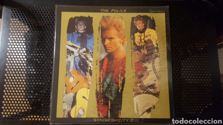 Discos de vinilo: Maxis - The Police / Sting - Wrapped Around Your Finger - Synchronicity II - King Of Pain - Foto 4 - 130437722
