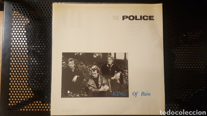 Discos de vinilo: Maxis - The Police / Sting - Wrapped Around Your Finger - Synchronicity II - King Of Pain - Foto 6 - 130437722