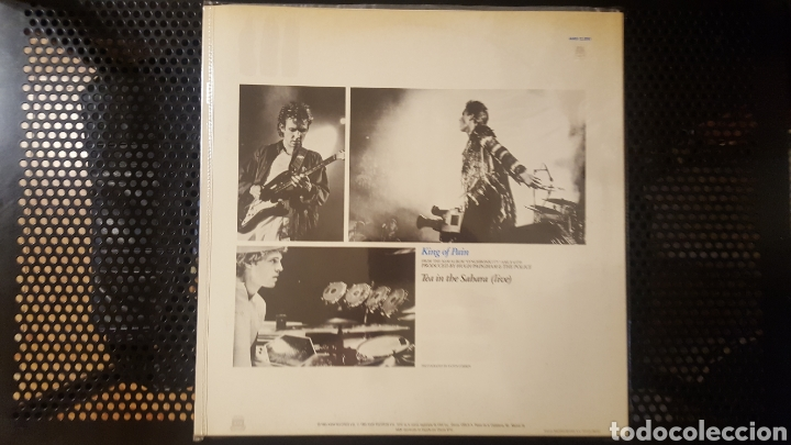 Discos de vinilo: Maxis - The Police / Sting - Wrapped Around Your Finger - Synchronicity II - King Of Pain - Foto 7 - 130437722