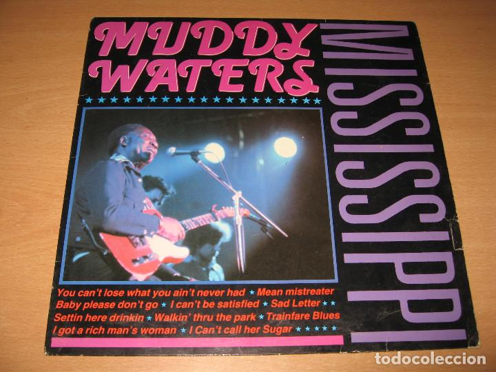 Discos de vinilo: LP MUDDY WATERS MISSISSIPPI - CLEO HOLLAND - Foto 1 - 130440214