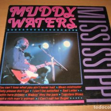 Discos de vinilo: LP MUDDY WATERS MISSISSIPPI - CLEO HOLLAND. Lote 130440214