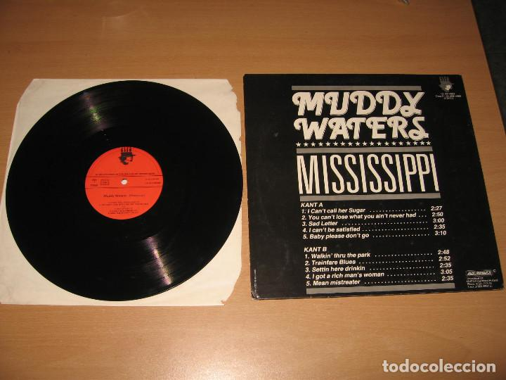 Discos de vinilo: LP MUDDY WATERS MISSISSIPPI - CLEO HOLLAND - Foto 2 - 130440214