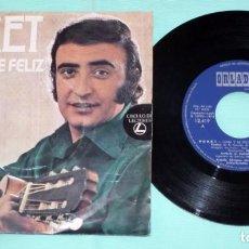 Discos de vinilo: SINGLE - PERET - CANTA Y SÉ FELIZ. Lote 130442834