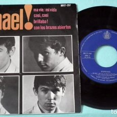 Discos de vinilo: SINGLE - RAPHAEL - MI VIDA. Lote 130443322