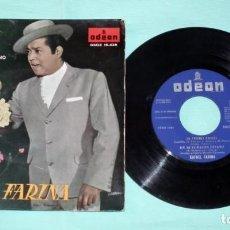Discos de vinilo: SINGLE - RAFAEL FARINA - MI PERRO AMIGO. Lote 130443374