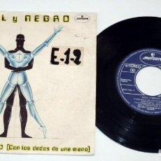 Discos de vinilo: SINGLE - AZUL Y NEGRO - NO TENGO TIEMPO. Lote 130443782