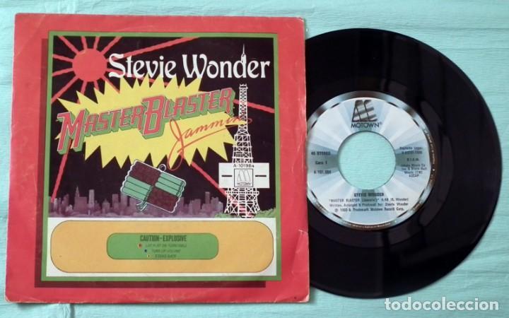SINGLE - STEVIE WONDER - MASTER BLASTER (Música - Discos - Singles Vinilo - Otros estilos)