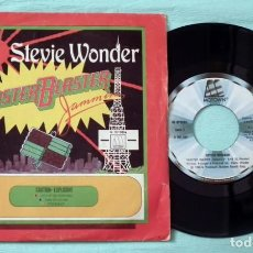 Discos de vinilo: SINGLE - STEVIE WONDER - MASTER BLASTER. Lote 130443942