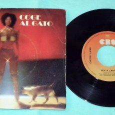 Discos de vinilo: SINGLE - CHERRY LAINE - COGE AL GATO. Lote 130444210